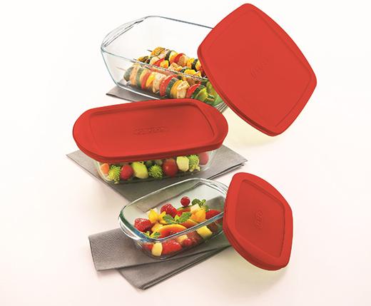 du pep 39 s dans les plats en verre avec cook store de pyrex a vos assiettes recettes de. Black Bedroom Furniture Sets. Home Design Ideas