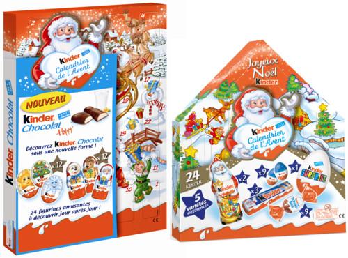 Calendrier De Lavent 2019 Kinder.Vivez Un Noel Magique Avec Kinder Collection 2013 A Vos
