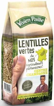 Vivien Paille Dévoile Une Toute Nouvelle Référence De Lentilles Vertes Les Lentilles Vertes De Nos Agriculteurs Partenaires A Vos Assiettes Recettes De Cuisine Illustrées