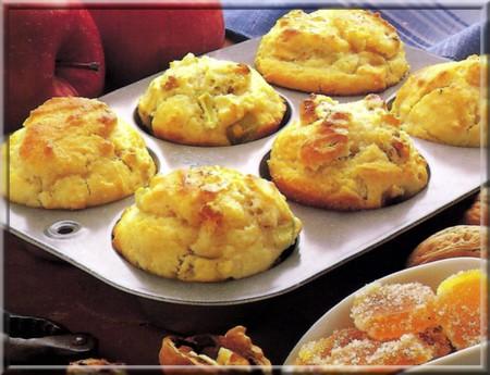 muffins aux pommes a vos assiettes recettes de cuisine. Black Bedroom Furniture Sets. Home Design Ideas