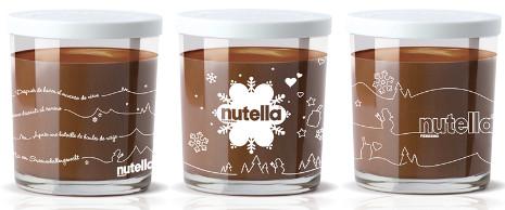 Avec nutella c l brons la magie des f tes de fin d 39 ann e a vos assiettes recettes de - Petit pot de nutella ...