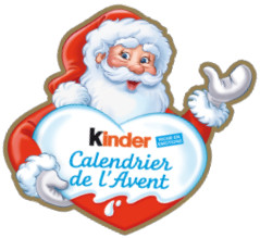 avec les calendriers de l 39 avent kinder c 39 est d licieux d. Black Bedroom Furniture Sets. Home Design Ideas