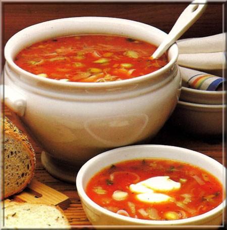 potage la tomate a vos assiettes recettes de cuisine illustr es. Black Bedroom Furniture Sets. Home Design Ideas