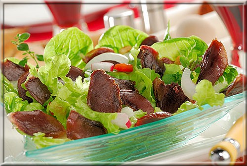 salade de g siers a vos assiettes recettes de cuisine illustr es. Black Bedroom Furniture Sets. Home Design Ideas