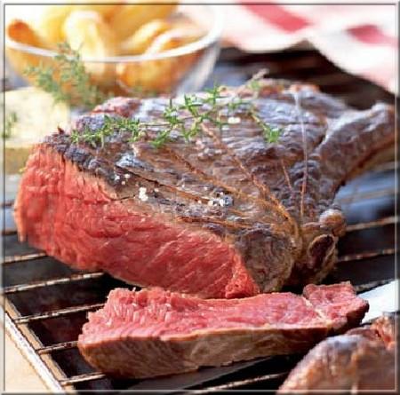 C te de b uf au beurre de thym a vos assiettes - Temps de cuisson cote de boeuf au grill ...