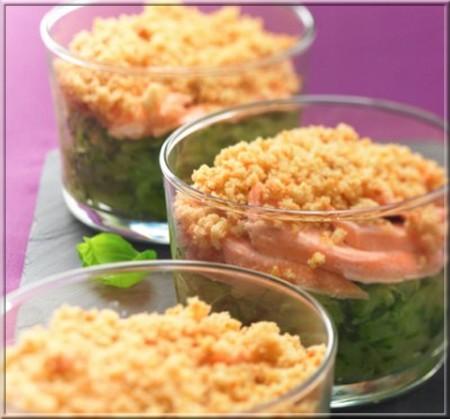 crumble-de-courgettes-aux-deux-saumons