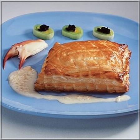 feuilleté_de_crabe_et_fondue_de_poireaux_