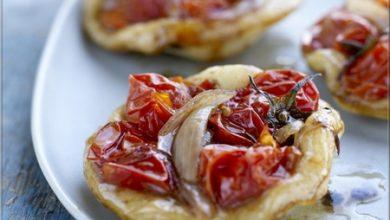 Photo de Minis Pizzas aux Tomates Cerise de France et Échalotes Confites