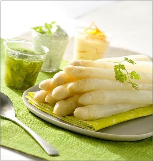 asperges sauces