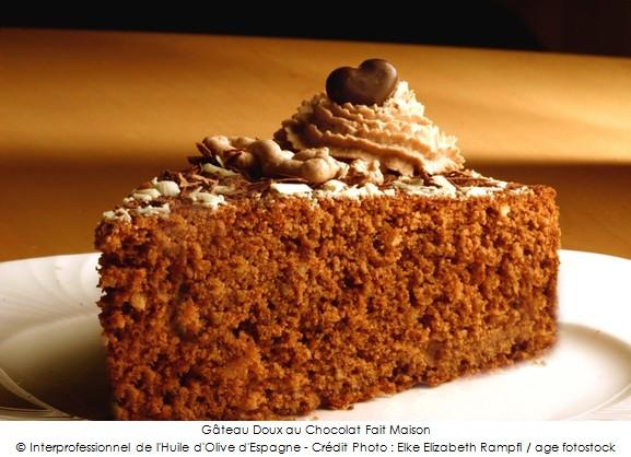 G 226 Teau Doux Au Chocolat Fait Maison A Vos Assiettes