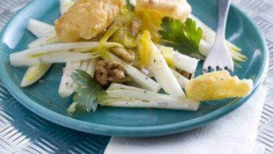 Photo de Beignets de Maroilles en Salade de Chicons
