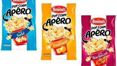Photo de Du Nouveau à Partager à l'Apéritif, Découvrez Pop Corn Apéro de Bénénuts®