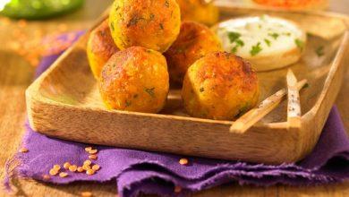 Photo de Bouchées de Lentilles Corail à l'Indienne