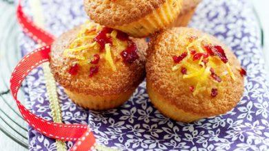Photo de Petits Cakes Citron et Cranberry
