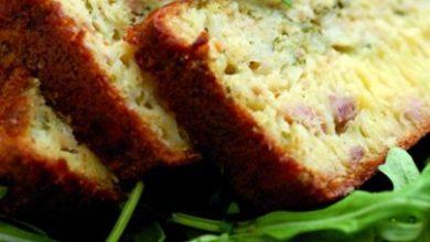 Photo de Cake au Thon et à la Roquette