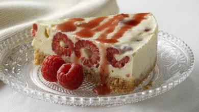 Photo de Cheesecake meringué à la framboise