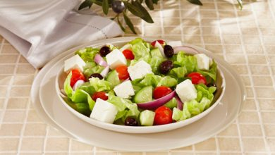 Photo de Salade méditerranéenne au fromage de brebis