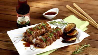 Photo de Brochettes de porc à la Yakitori