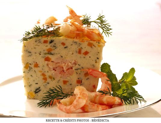 Terrine de la mer aux crevettes a vos assiettes - Cuisine tv recettes 24 minutes chrono ...
