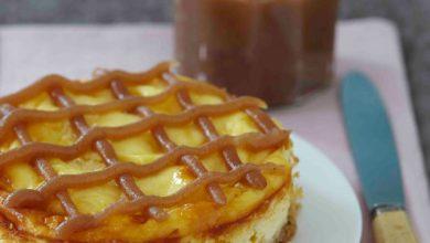 Photo de Cheesecake aux Sablés des Prés et Confiture de Châtaignes