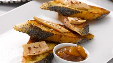 Photo de Pain perdu de foie gras façon Rétrodor