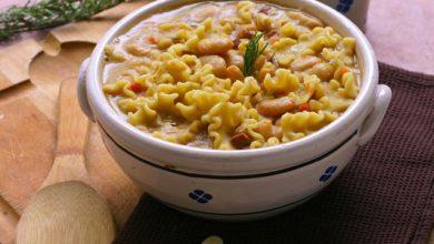 Photo de Soupe de Haricots Tarbais à l'Italienne