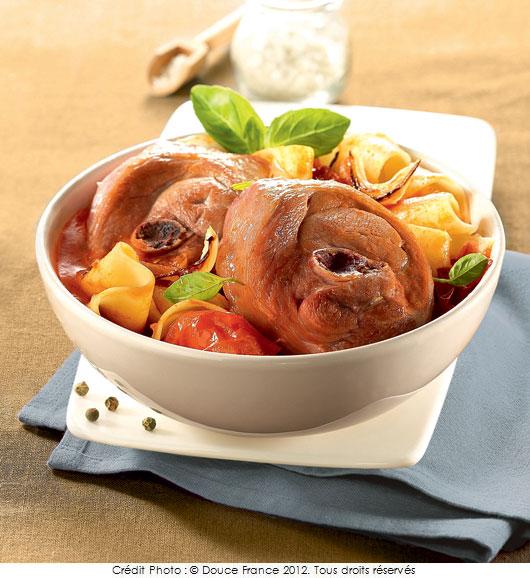 Osso bucco de dinde a vos assiettes recettes de - Cuisine italienne osso bucco ...