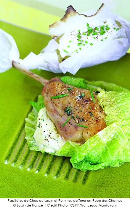papillotes de chou au lapin et pommes de terre en robe des champs a vos assiettes recettes. Black Bedroom Furniture Sets. Home Design Ideas