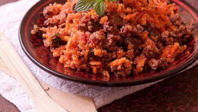 Photo de Taboulé de quinoa aux carottes et betterave
