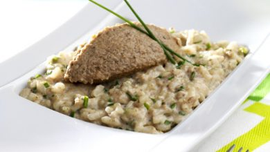 Photo de Risotto à la Tapena' Champignons grillés aux cèpes