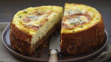 Photo de Cheesecake au Bresse Bleu