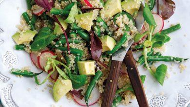 Photo de Salade de quinoa, de radis et d'avocat Hass