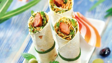 Photo de Wraps de saucisses ou merguez