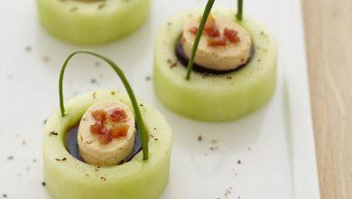 Photo de Fraîcheur de concombre au balsamique et Apérivrais Piment doux