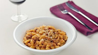 Photo de Gnocchetti sardi à la saucisse et aux tomates cerise