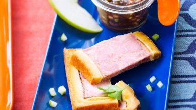 Photo de Pâté en croûte et son chutney pommes-figues