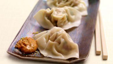Photo de Ravioles Chinoises, sauce onctueuse au Dukkah