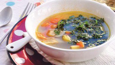 Photo de Bouillon de légumes racine au galanga