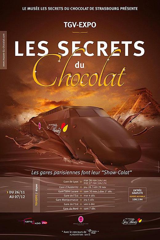 train-chocolat-gare-paris ipad