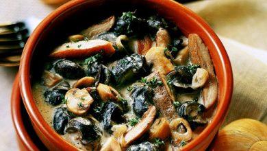 Photo de Cassolette d'escargots au Chablis
