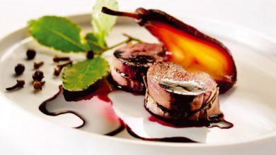 Photo de Noisettes de chevreuil aux poires façon Compagnons du Goût
