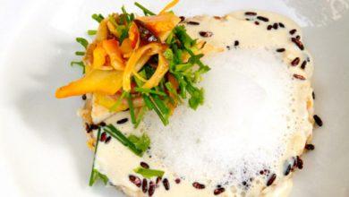 Photo de Œufs brouillés et riz soufflé aux senteurs automnales