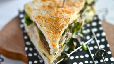 Photo de Club sandwich au Camembert de Normandie