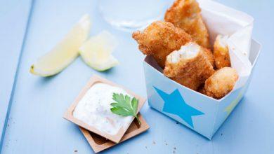 Photo de Nuggets de poisson, sauce au fromage blanc
