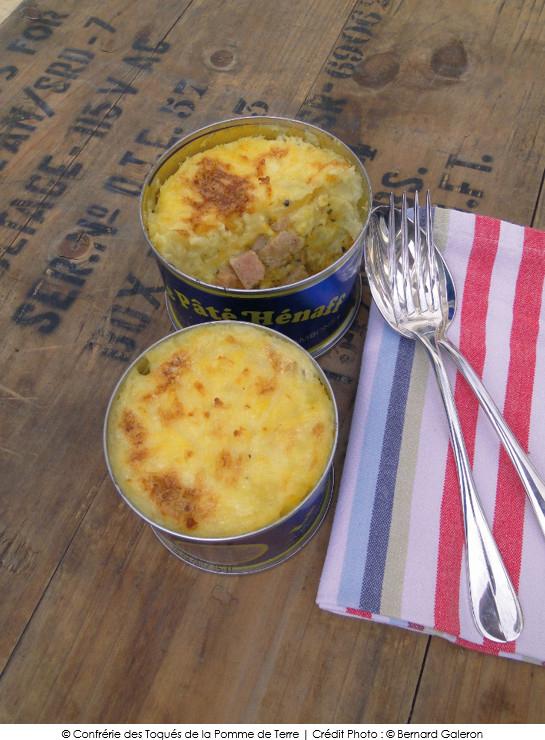Parmentier de blue belle au p t h naff a vos assiettes recettes de cuisine illustr es - Nathalie beauvais cours de cuisine ...