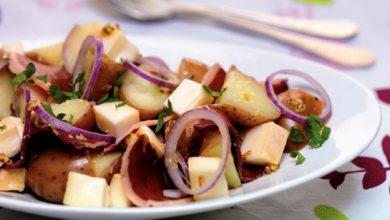 Photo de Salade de pommes de terre au Reblochon