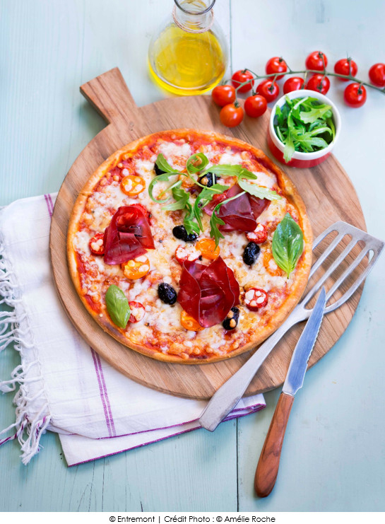 pizza_tomate_fromage_bresaola_roquette