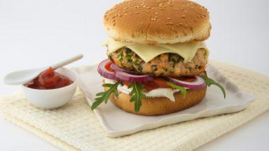 Photo de Burger Roq'Croque Société® aux 2 saumons