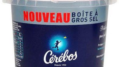 Photo de La boîte à gros sel Cérébos s'invite sur les tables estivales !