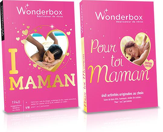 wonderbox les nouveaux coffrets pour la f te des m res. Black Bedroom Furniture Sets. Home Design Ideas